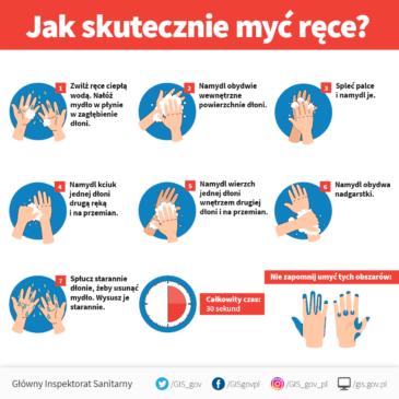 Wytyczne przeciwepidemiczne Głównego Inspektora Sanitarnego